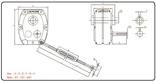 shaft mounted speed reducer shaft mounted gearbox